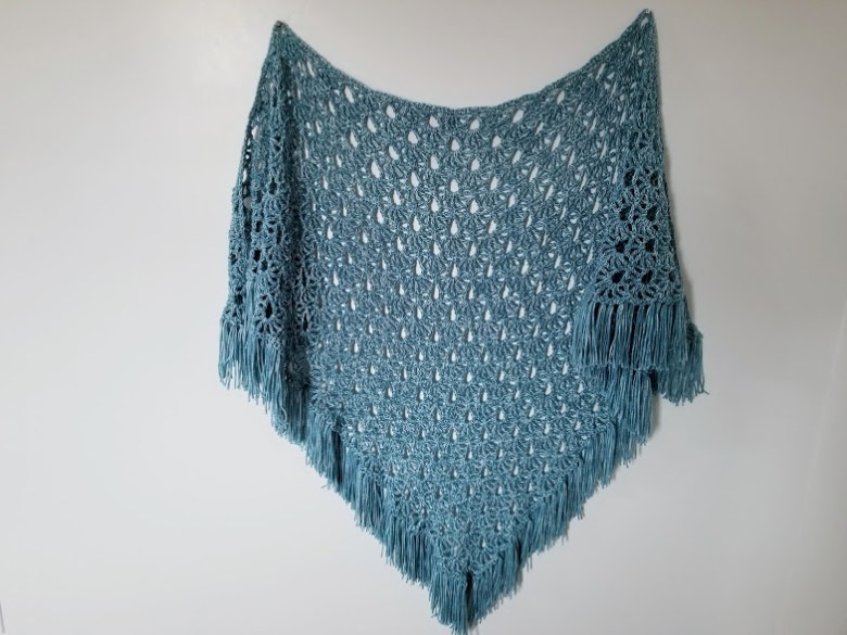 April Showers Shawl - Free Crochet Pattern - Highland