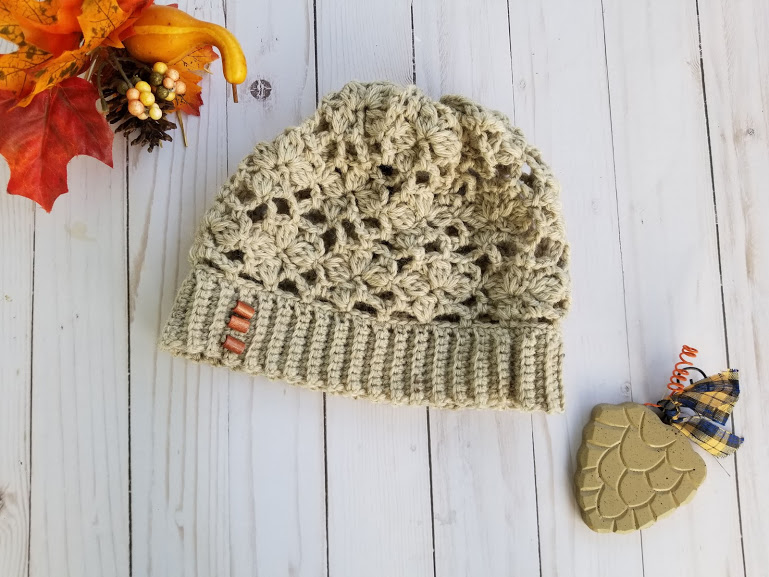 laid flat autumn joy slouch hat