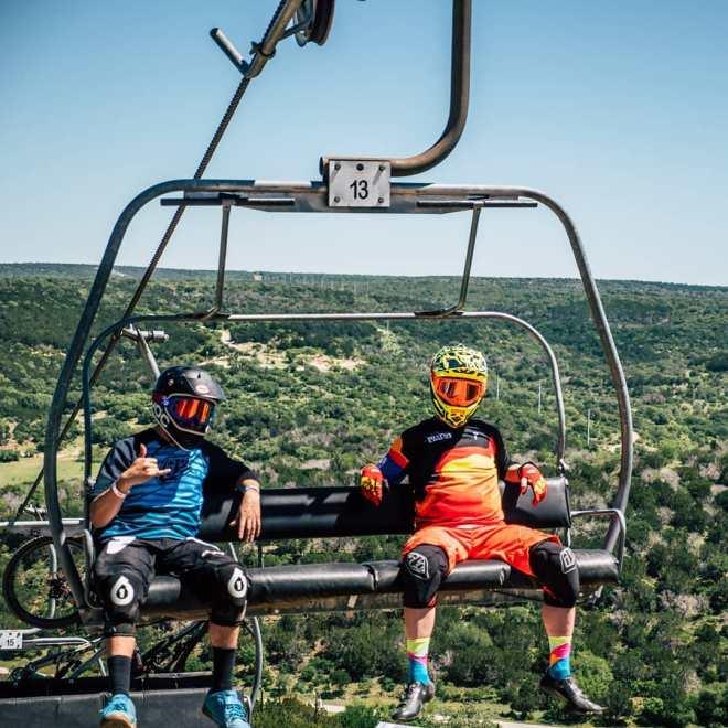 spider mountain burnet county, mountain biking burnet county, reveille ranch mountain biking, chair lift burnet county