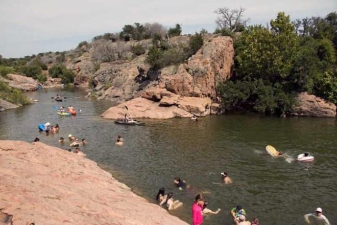 swimming holes, burnet county