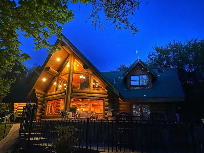 Luxury lives at Log Country Cove on Lake LBJ in Burnet County