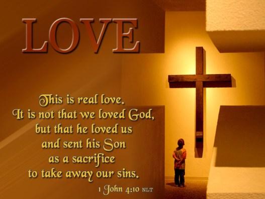 Verse of the Day - 1 John 4:10 KJV - Highland Park Baptist Church