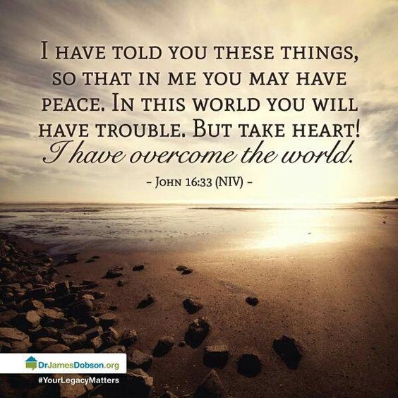 verse of the day john 16 33 kjv highland park baptist church