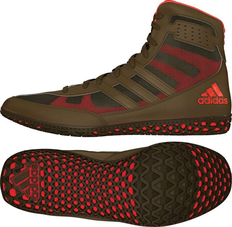 Adidas Mat Wizard David Taylor Edition OliveOrangeOlive