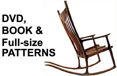 large rocking chair plans