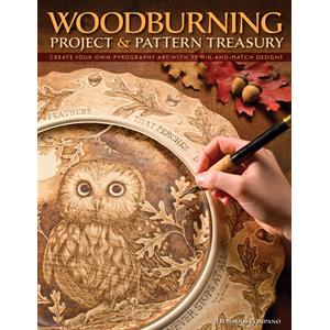 Woodburning Projects and Pattern Treasury | Woodburning Pattern Books
