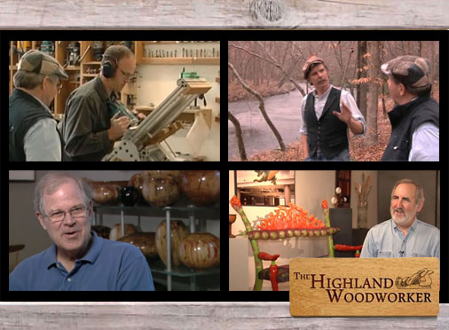 The Highland Woodworker, our FREE Web TV Show