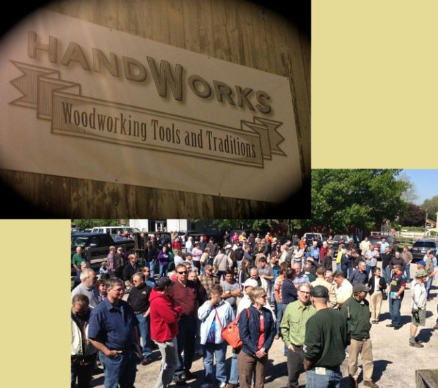 about an unusual woodworking show that i attended last weekend the
