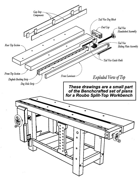 roubo bench plans