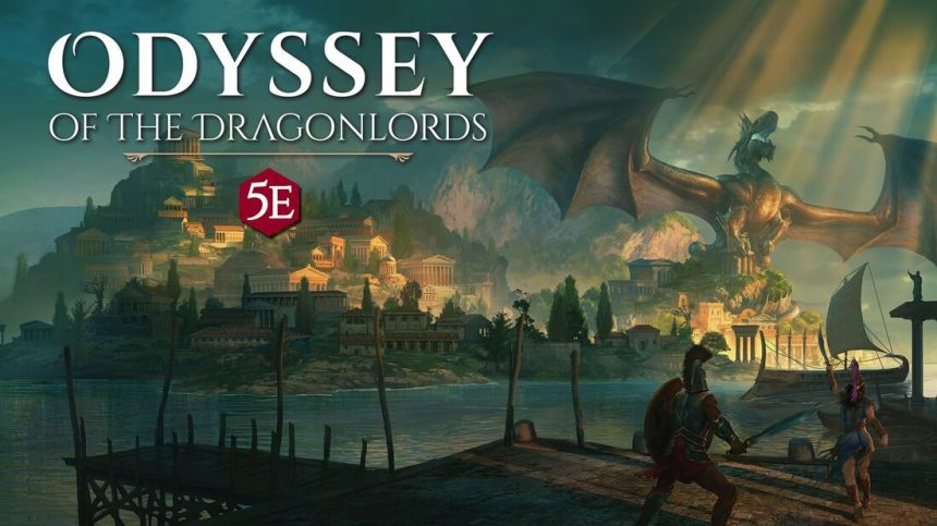Image result for Odyssey of the Dragonlords rpg