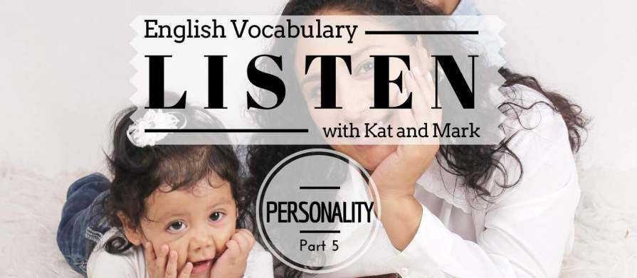 English Listening Practice Personality Vocabulary5