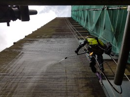 Tower Block Pressure Washing