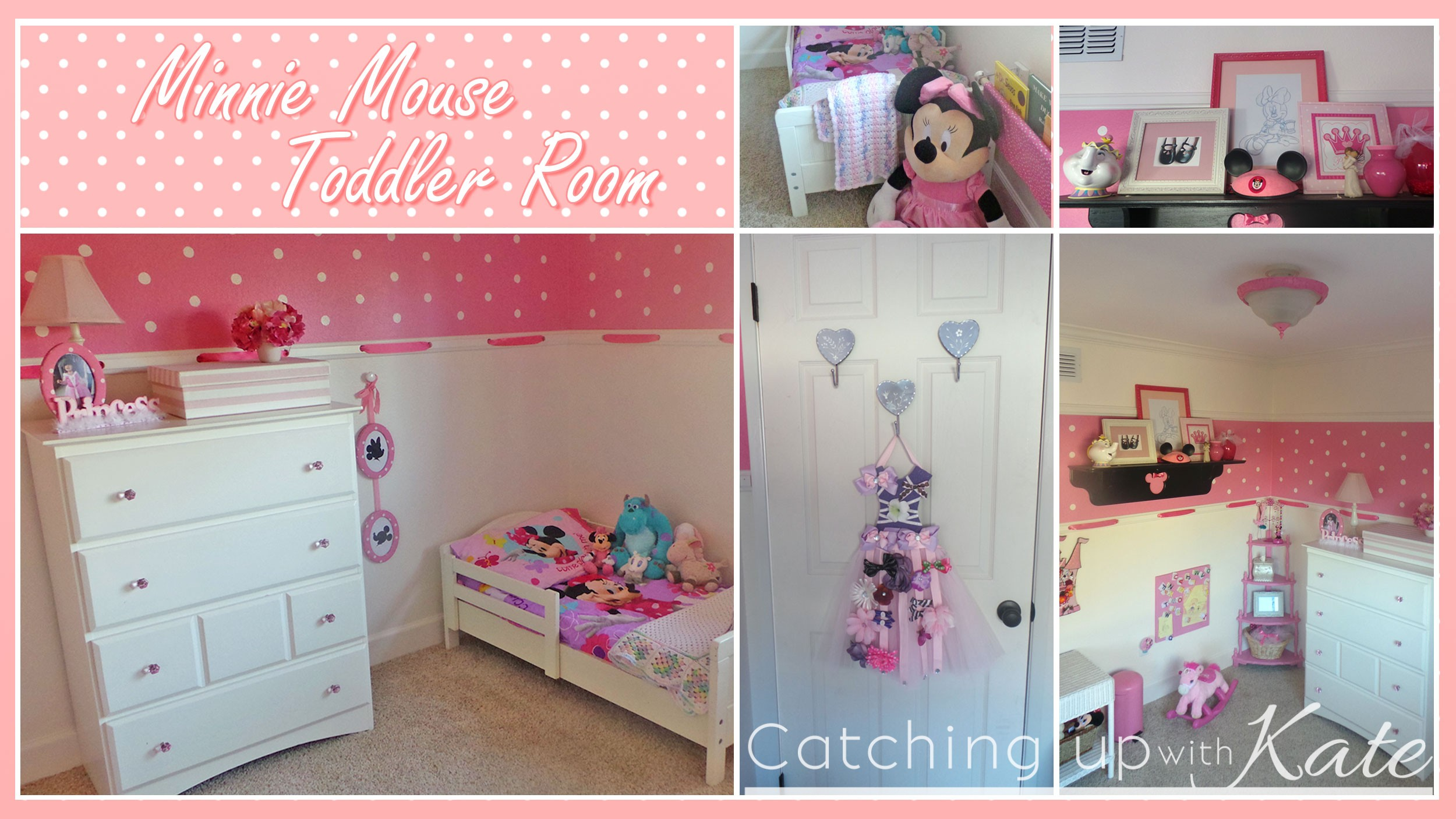 Minnie Mouse Room Diy Decor