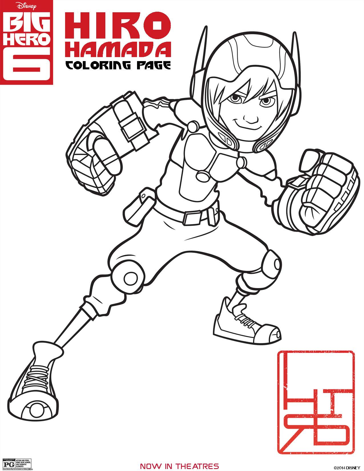 Big Hero 6 Coloring Pages And Printables