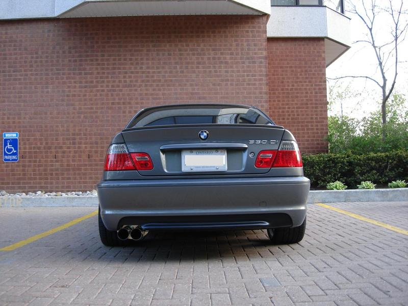 cat back exhaust system for bmw e46 325