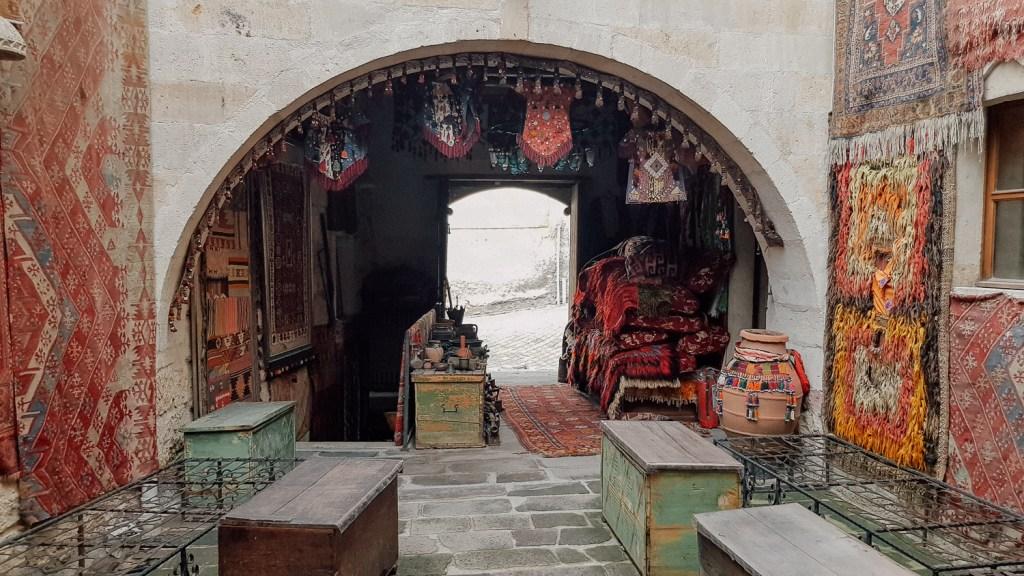 carpet shop in goreme