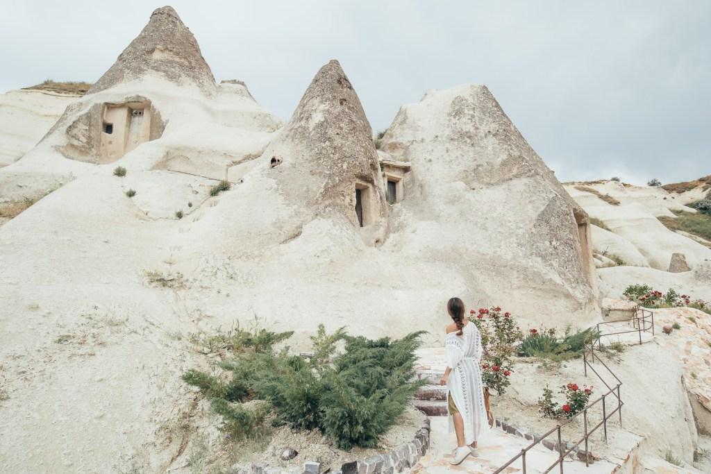 cave hotel in cappadocia, anatolian houses
