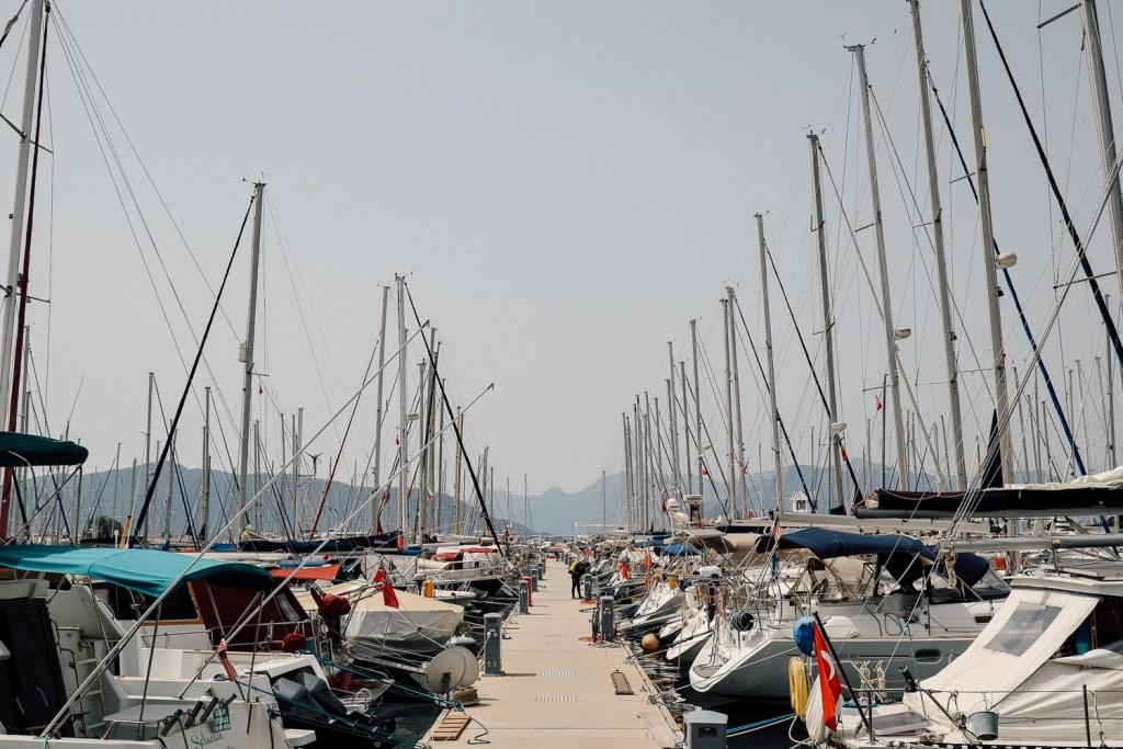 ริมทะเลเมืองมามาริส ประเทศตุรกี marmaris , turkey