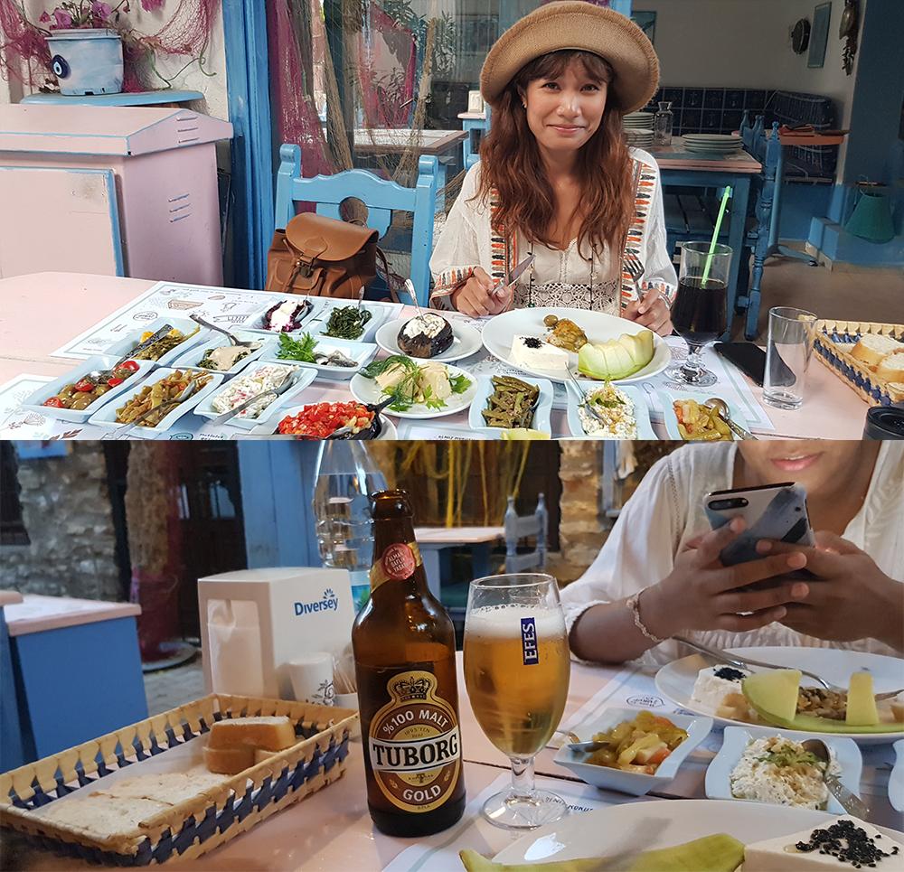local restaurant in Turkey