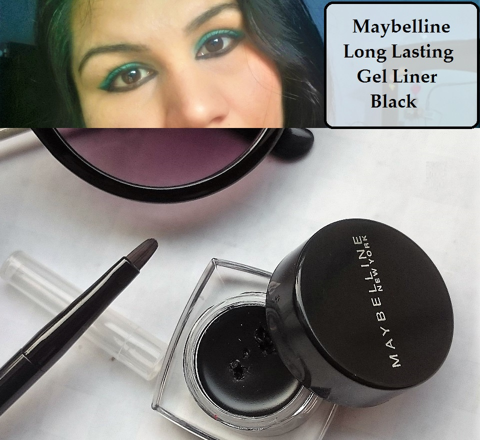 maybelline long lasting gel liner black swatch