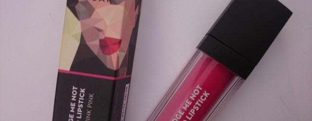 sugar smudge me not liquid lipstick rethink pink 07