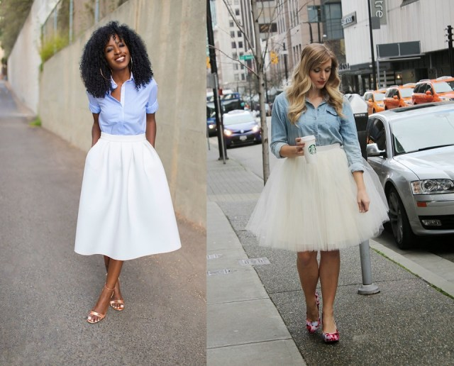 denim with tulle 2