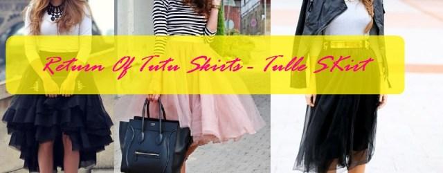 wear tulle skirt