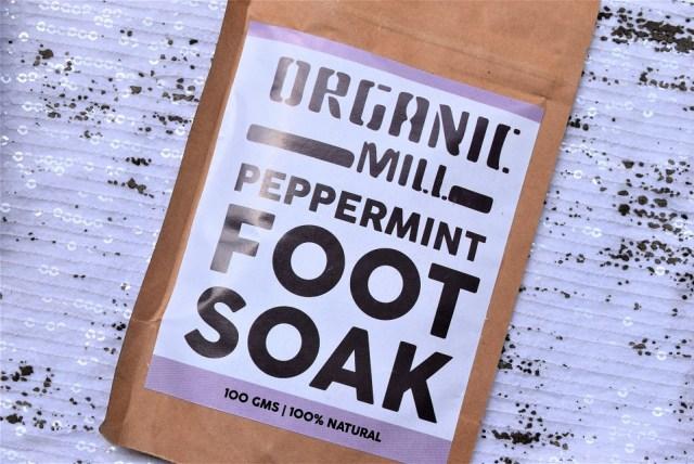 organic mill foot soak