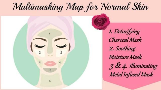 Multimasking Map For Normal Skin