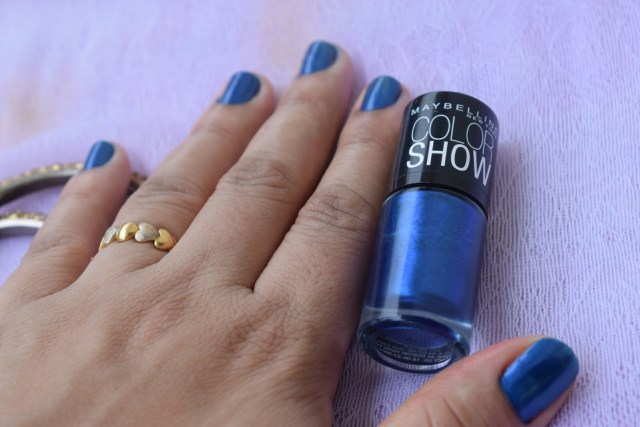 Maybelline Color Show Nail Enamel Ladies Night 006 - Swatch