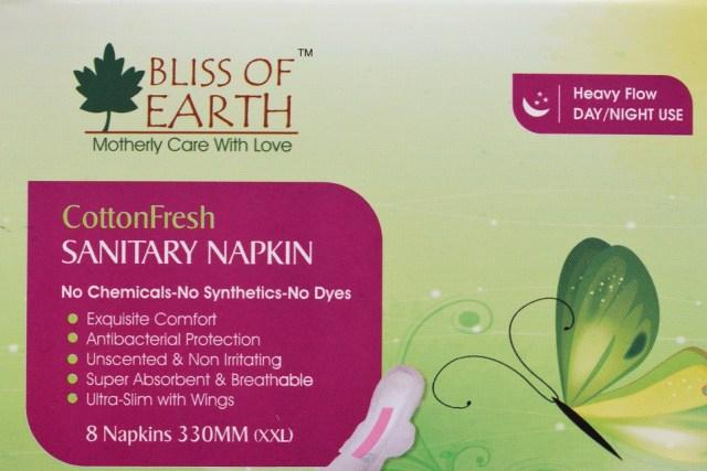 Bliss Of Earth CottonFresh Sanitary Napkin (2)