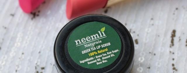 Neemli Naturals Green Tea Lip Scrub