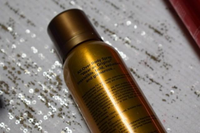 Revlon Charlie Perfumed Body Spray Gold