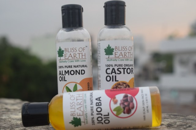 Bliss Of Earth 100% Pure Natural Almond Oil - Hair Oil