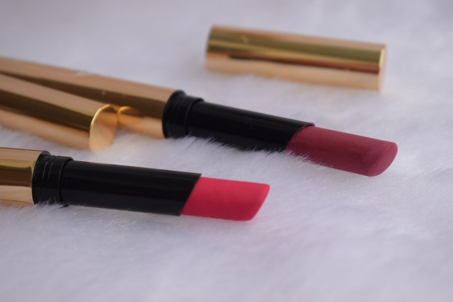 Lakme Absolute Luxe Matte Lip Color With Argan Oil - Grand Fuchsia , Rosy Lips (4)