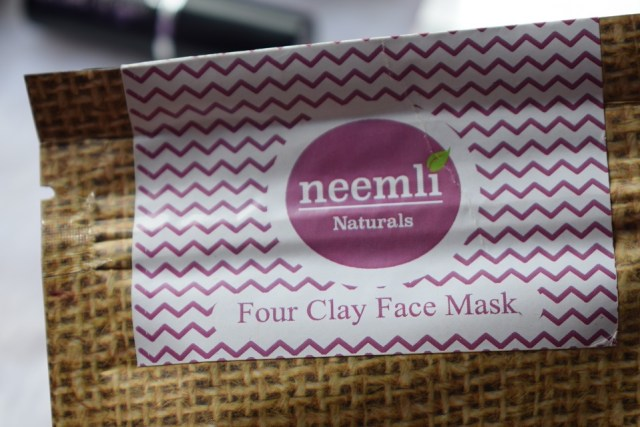 Neemli Naturals Four Clay Face & Body Wrap