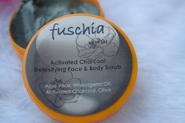 Fuschia Activated Charcoal Detoxifying Face & Body Scrub (2)