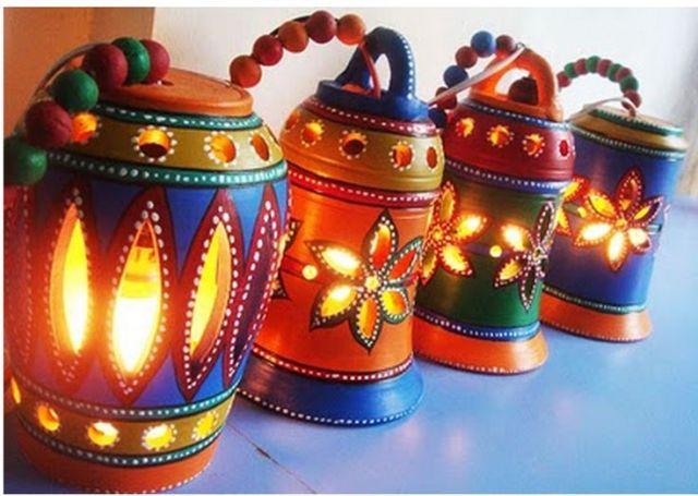 Terracotta Lamps