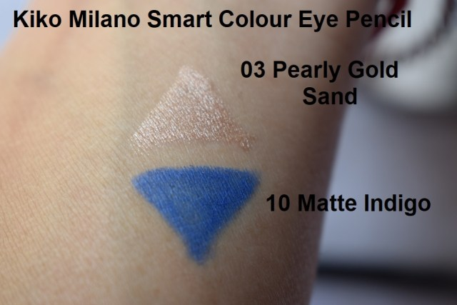 Kiko Milano Smart Colour Eye Pencil 03, 10 - Swatches (2)