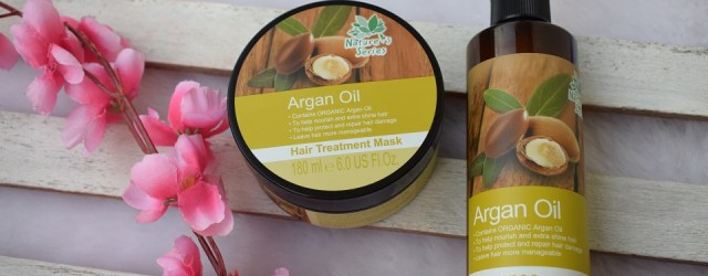 Nature's Series Argan Oil Shampoo & Hair Treatment Mask (2)