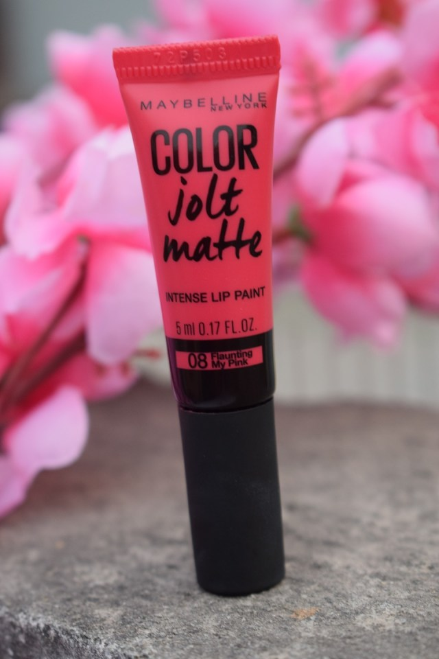 Maybelline Color Jolt Intense Lip Paint - 08 Flaunting My Pink