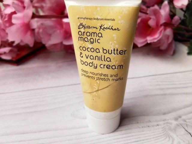 Blossom Khochhar Aroma MAgic Cocoa Butter & Vanilla Body Cream