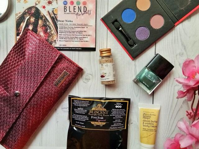 Fab Bag December 2017 - Blend The Beauty