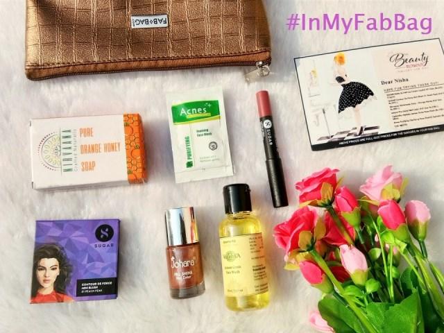 Fab Bag January 2018 - The Beauty Blowout