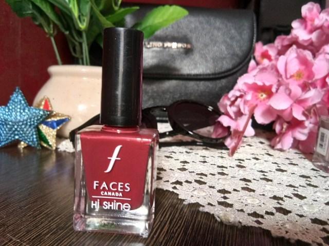 Faces Canada Hi-Shine Nail Enamel - 157 Woody Russet