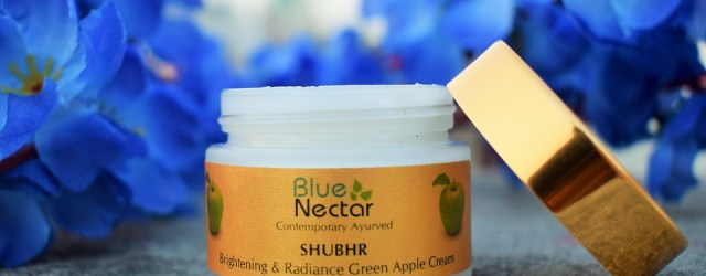 Blue Nectar SHUBHR Brightening & Radiance Green Apple Cream (2)