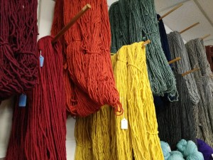 Yarns for sale.