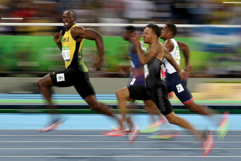 All Usain Bolt Does Is Run