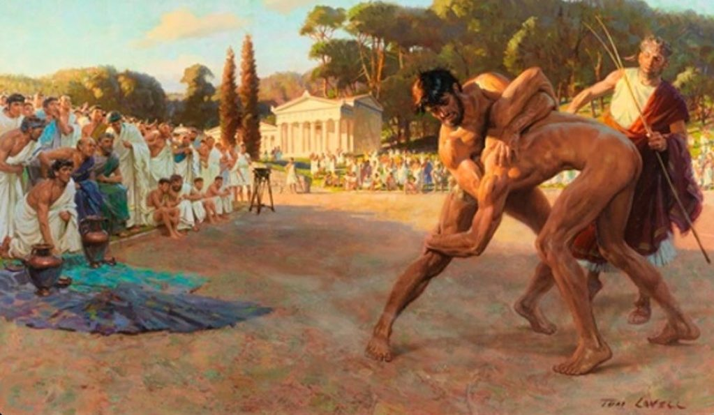 Pankration: Time-Travel To MMA Origins