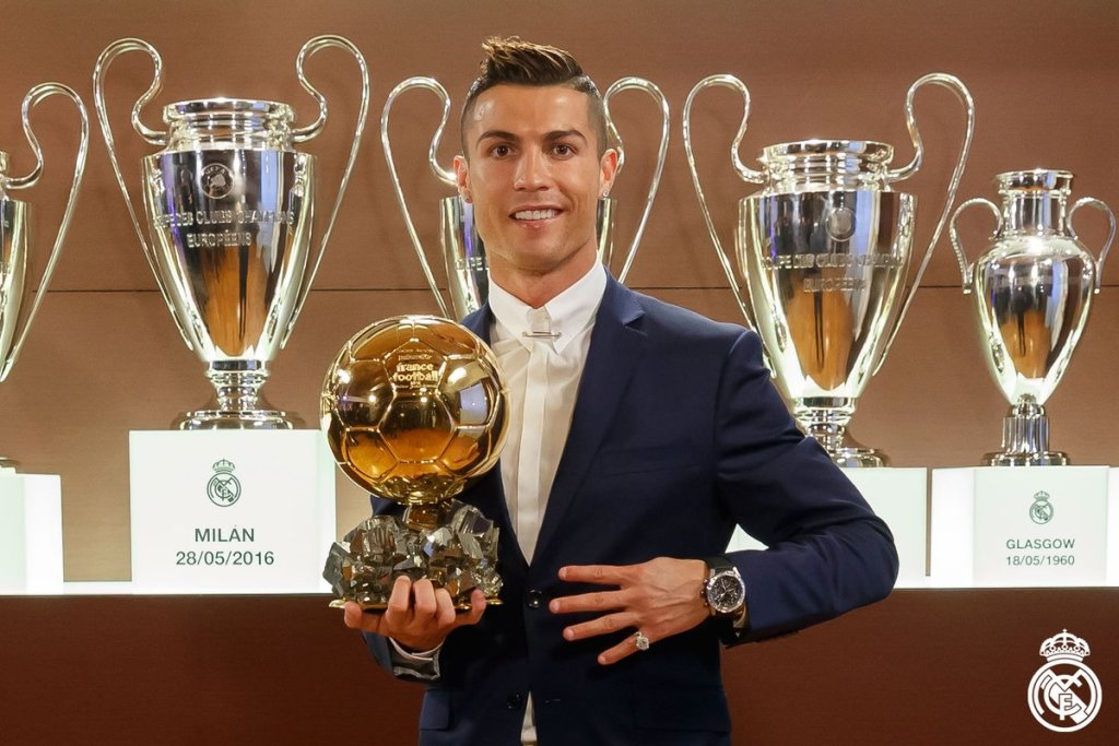 Epitome Cristiano Ronaldo Wins 4th Ballon D'Or